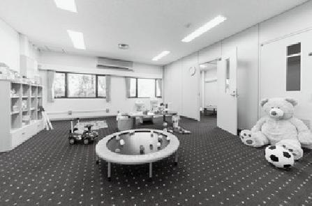 写真3 臨床心理相談センター内のプレイルーム