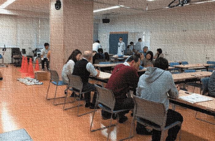 写真1 SONIC 研究の会場調査の様子