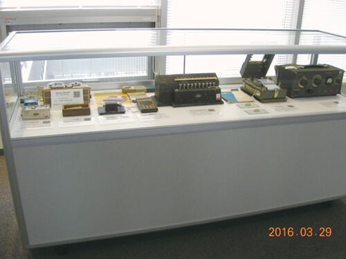 古装置の展示状況②