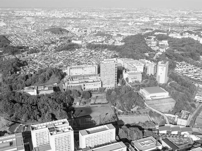 写真1 明星大学の全景