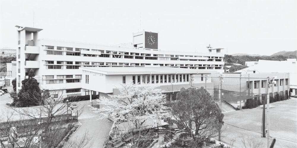 写真1 神戸親和女子大学鈴蘭台キャンパス