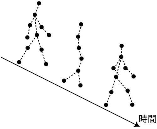 図1 バイオロジカルモーション(BM)