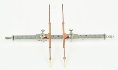 写真3 東北大学に残るミショットの皮膚感覚計測器 (Boulitte社製)